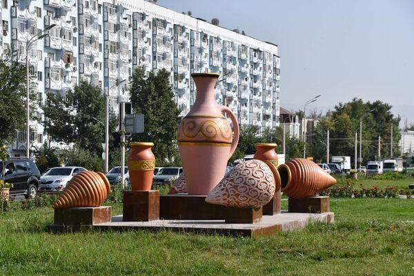 Украшение города Душанбе на праздник День независимости  - Sputnik Таджикистан