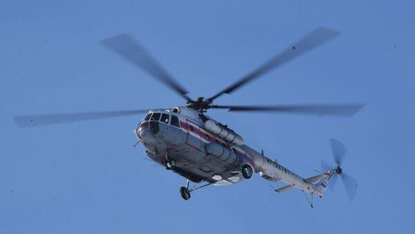 Вертолет МЧС России, архивное фото - Sputnik Тоҷикистон
