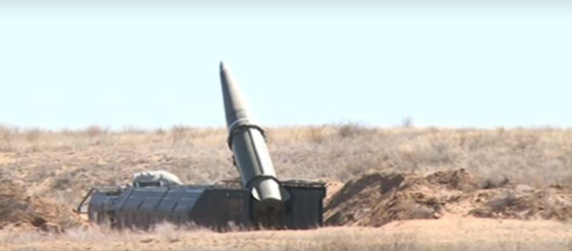 Пуск ракеты Искандер - Sputnik Таджикистан, 1920, 01.09.2019