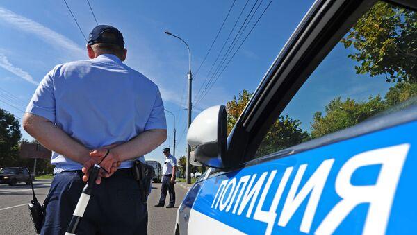 Инспектор дорожно-патрульной службы - Sputnik Таджикистан