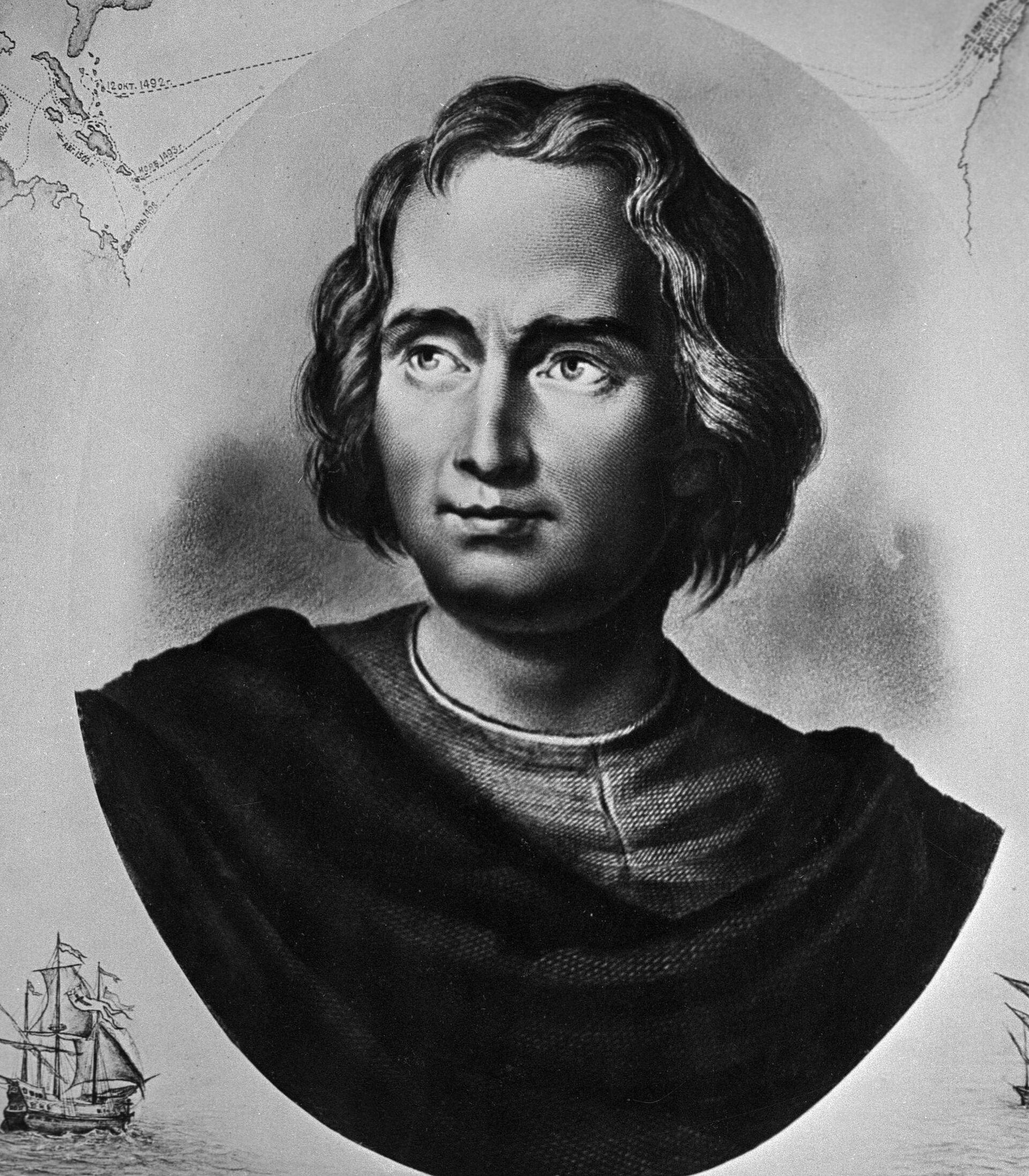 Мореплаватель Христофор Колумб (1446-1506) - испанский мореплаватель - Sputnik Тоҷикистон, 1920, 23.09.2021