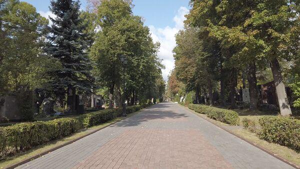 Аллея на новодевичьем кладбище - Sputnik Таджикистан