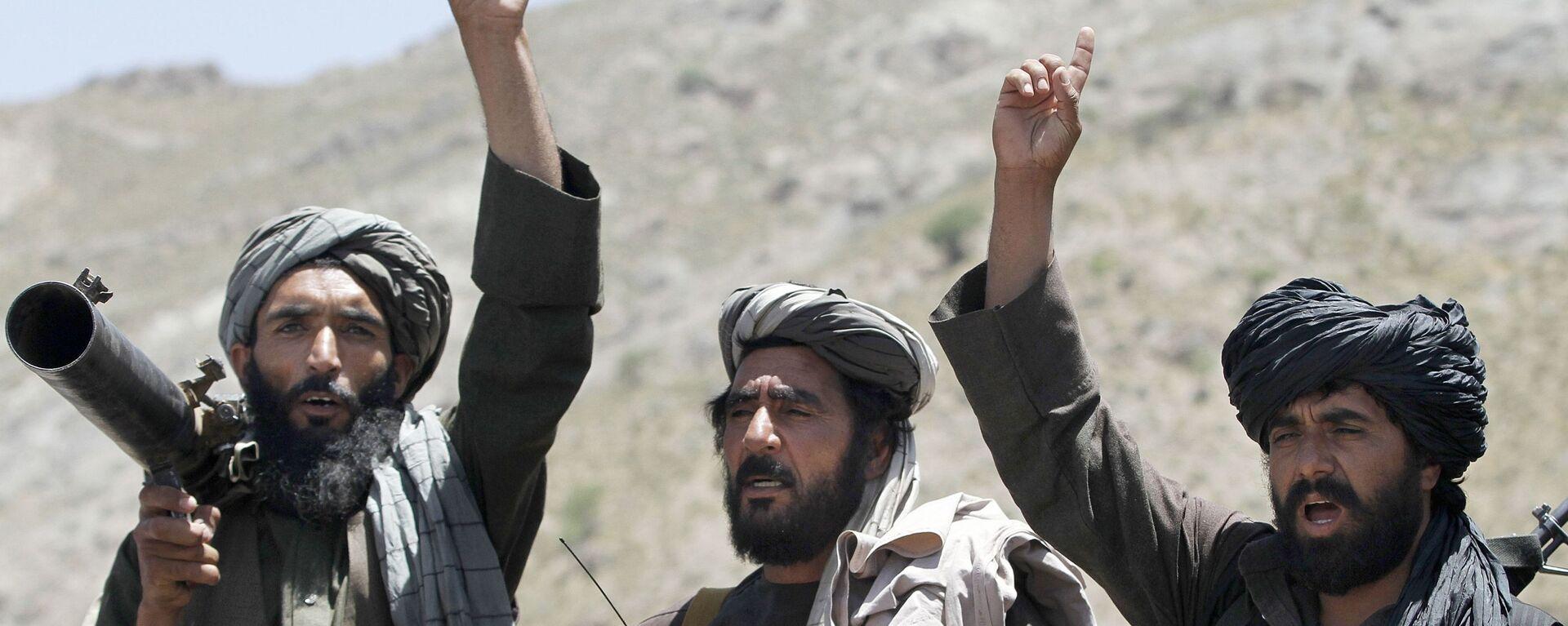 Боевики движения Талибан, архивное фото - Sputnik Таджикистан, 1920, 01.07.2021