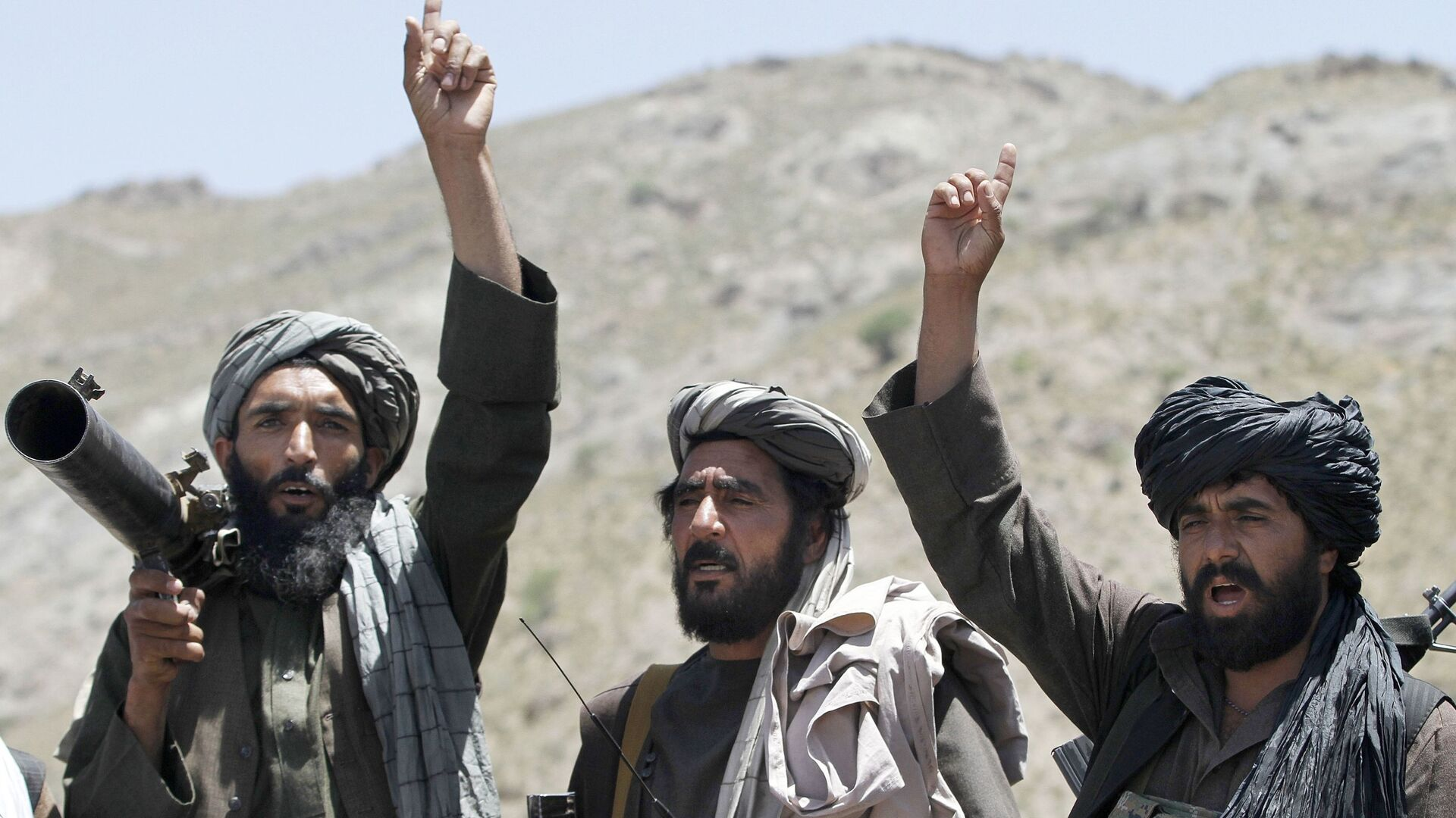 Боевики движения Талибан, архивное фото - Sputnik Таджикистан, 1920, 16.08.2021