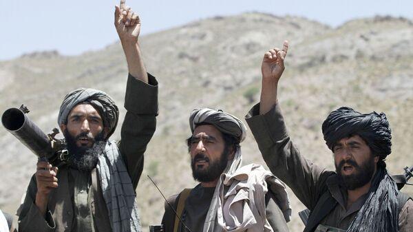 Боевики движения Талибан, архивное фото - Sputnik Таджикистан