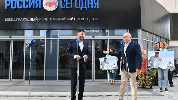 Пресс-конференция Кирилла Вышинского. Онлайн-трансляция - Sputnik Таджикистан