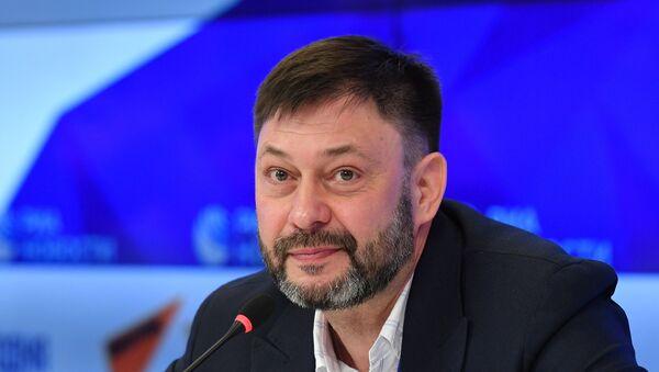 Пресс-конференция К. Вышинского - Sputnik Таджикистан