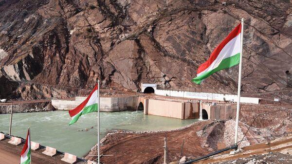 Открытие первого гидроагрегата на Рогунской ГЭС в Таджикистане  - Sputnik Тоҷикистон