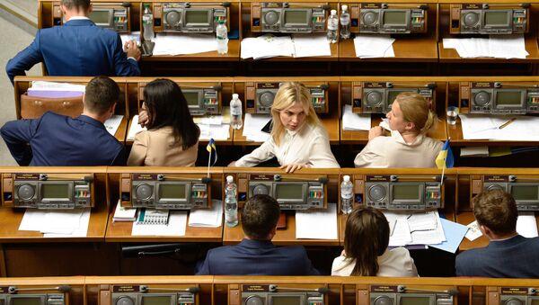 Заседание Верховной рады Украины - Sputnik Таджикистан