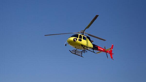 Вертолет французской фирмы Eurocopter - Sputnik Таджикистан