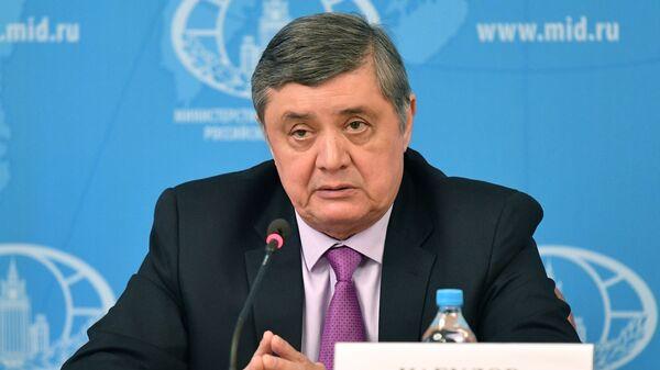 Замир Кабулов, архивное фото - Sputnik Тоҷикистон