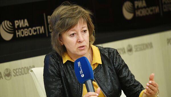 Член  коллегии (министра) по торговле Евразийской экономической комиссии Вероника  Никишина - Sputnik Таджикистан