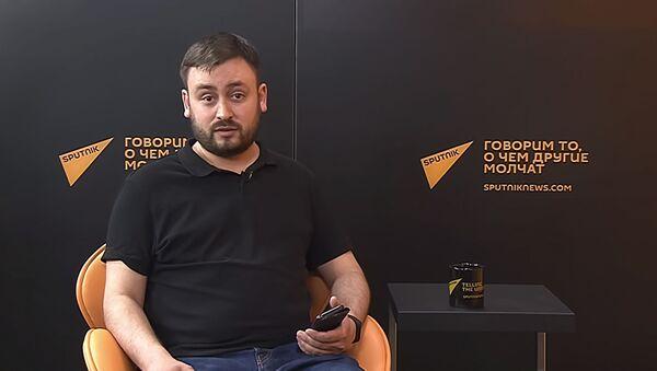Шеф-редактор Sputnik Литва Марат Касем, архивное фото - Sputnik Таджикистан