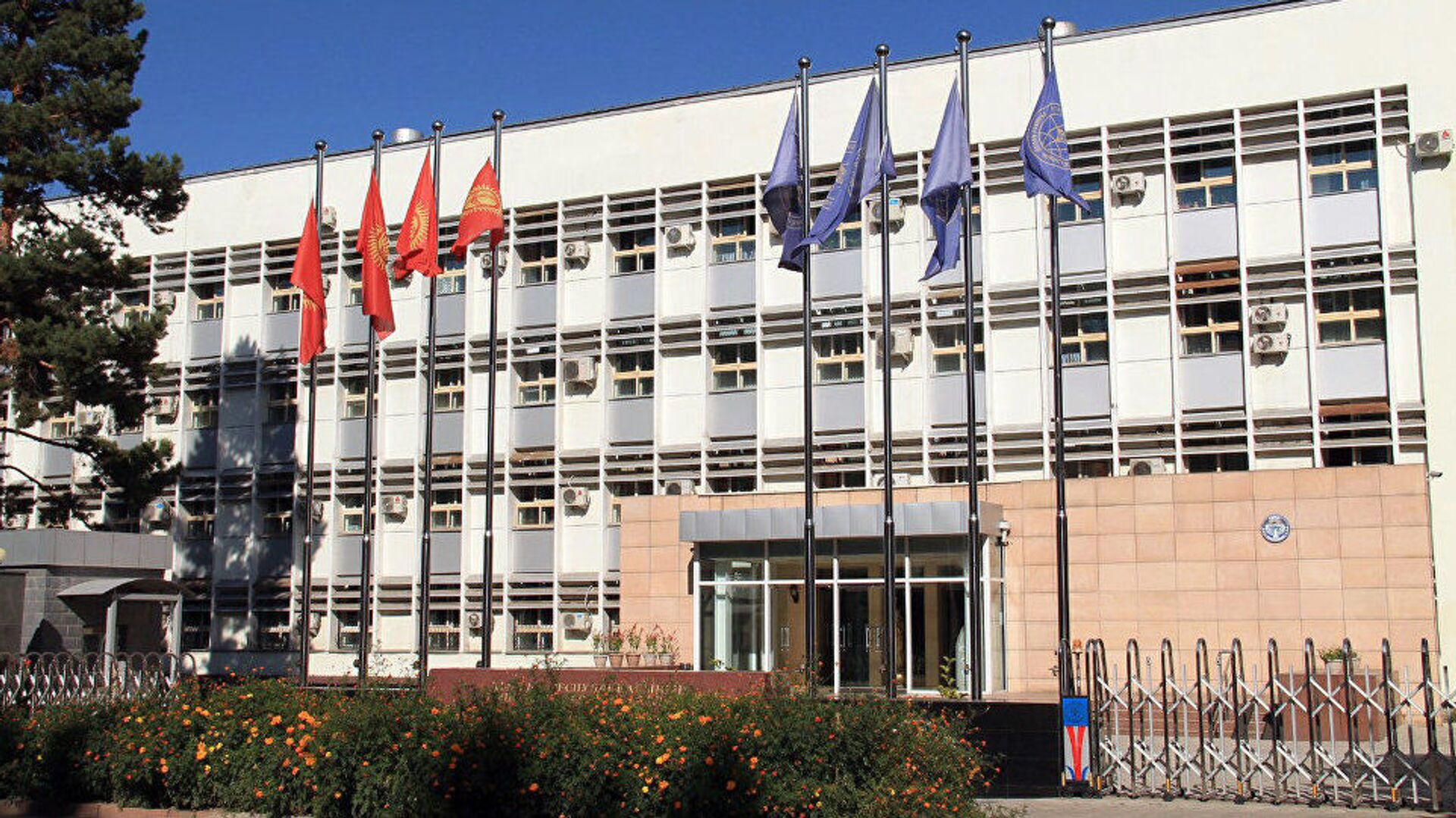 Здание министерства иностранных дел Кыргызстана, архивное фото - Sputnik Таджикистан, 1920, 04.06.2021
