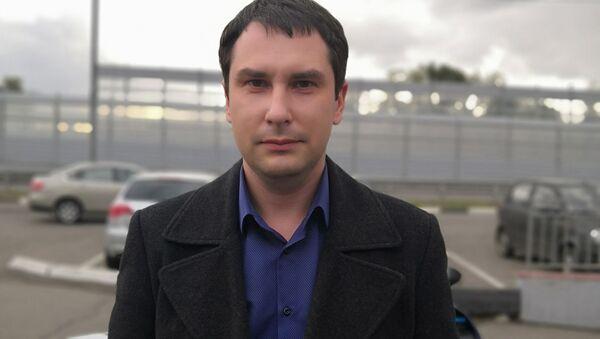 Автоюрист Константин Юрков - Sputnik Таджикистан