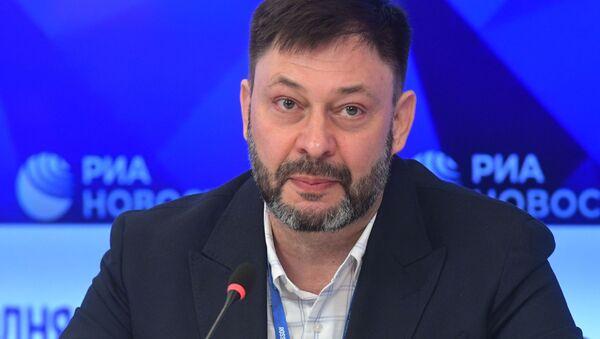 Руководитель портала РИА Новости Украина Кирилл Вышинский - Sputnik Таджикистан