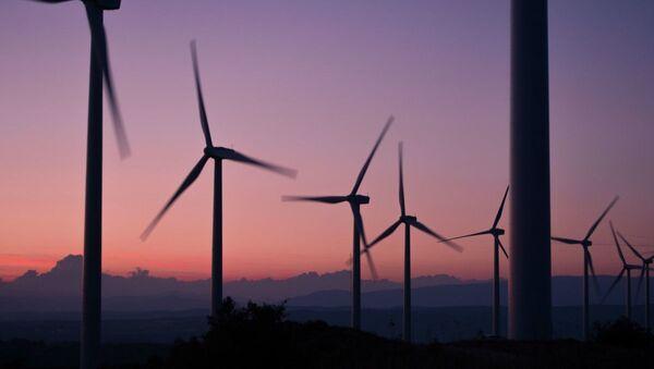 Ветреная электростанция, архивное фото - Sputnik Таджикистан