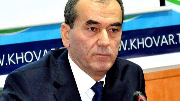 Усмонали Усмонзода, министр энергетики и водных ресурсов Таджикистана - Sputnik Тоҷикистон