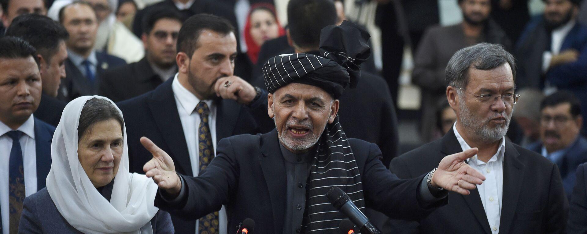Президент Афганистана Ашраф Гани - Sputnik Таджикистан, 1920, 23.07.2021