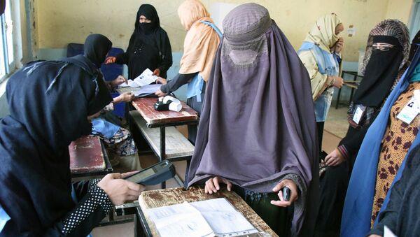Выборы в Афганистане, архивное фото - Sputnik Таджикистан