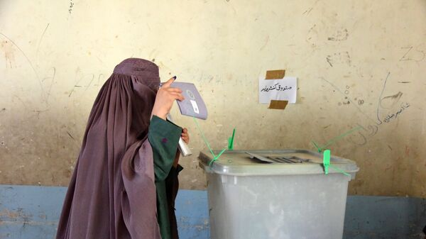Выборы в Афганистане, архивное фото - Sputnik Тоҷикистон