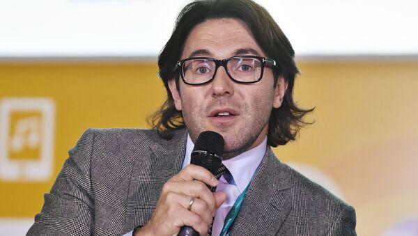 Телеведущий, главный редактор журнала StarHit Андрей Малахов - Sputnik Тоҷикистон
