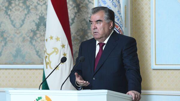 Президент Республики Таджикистана Эмомали Рахмон - Sputnik Тоҷикистон