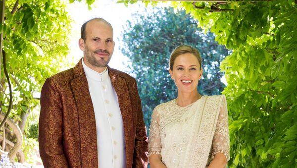 Свадьба Принца Хусайна и госпожи Элизабет Хог  - Sputnik Таджикистан