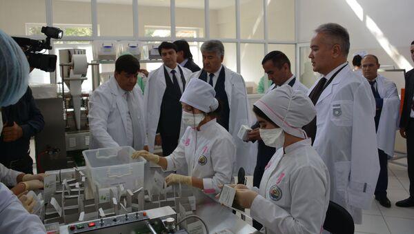 В Душанбе заработало новое предприятие по переработке лекарственных растений - Sputnik Тоҷикистон