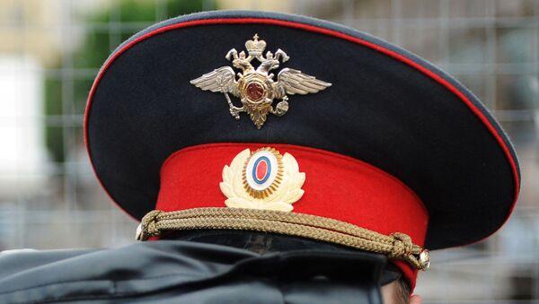 Фуражка полицейского РФ - Sputnik Таджикистан