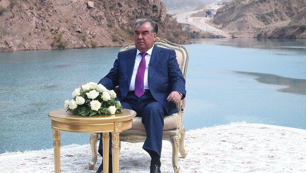 Президент Республики Таджикистана Эмомали Рахмон - Sputnik Таджикистан
