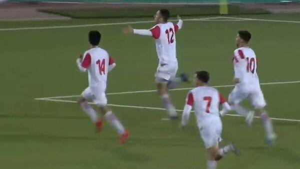 Лучшие моменты футбольного матча сборных Таджикистана и Ливана - Sputnik Таджикистан