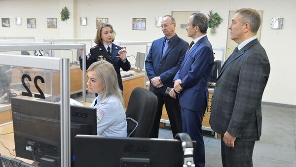 Столичный главк посетили коллеги из Республики Таджикистан - Sputnik Таджикистан