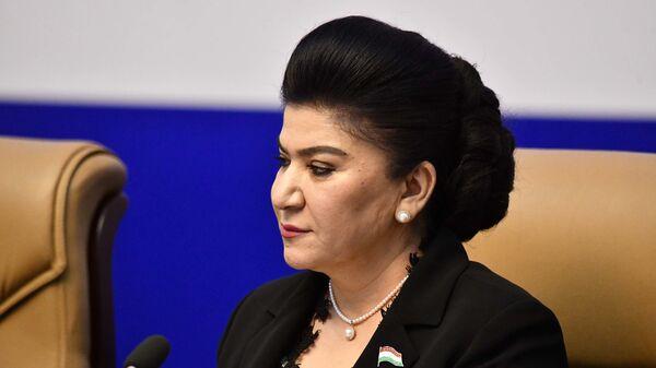 Зампредседателя Маджлиси намояндагон Маджлиси Оли (Высшего собрания) Республики Таджикистан Хайринисо Юсуфи - Sputnik Таджикистан