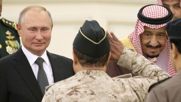 Государственный визит президента РФ В. Путина в Саудовскую Аравию - Sputnik Таджикистан