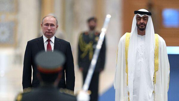 Государственный визит президента РФ В. Путина в ОАЭ - Sputnik Таджикистан
