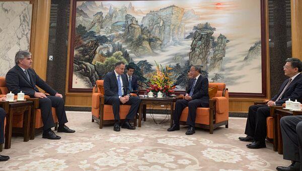 Таджикистан и Китай обсудили наращивание инвестиционного сотрудничества - Sputnik Таджикистан