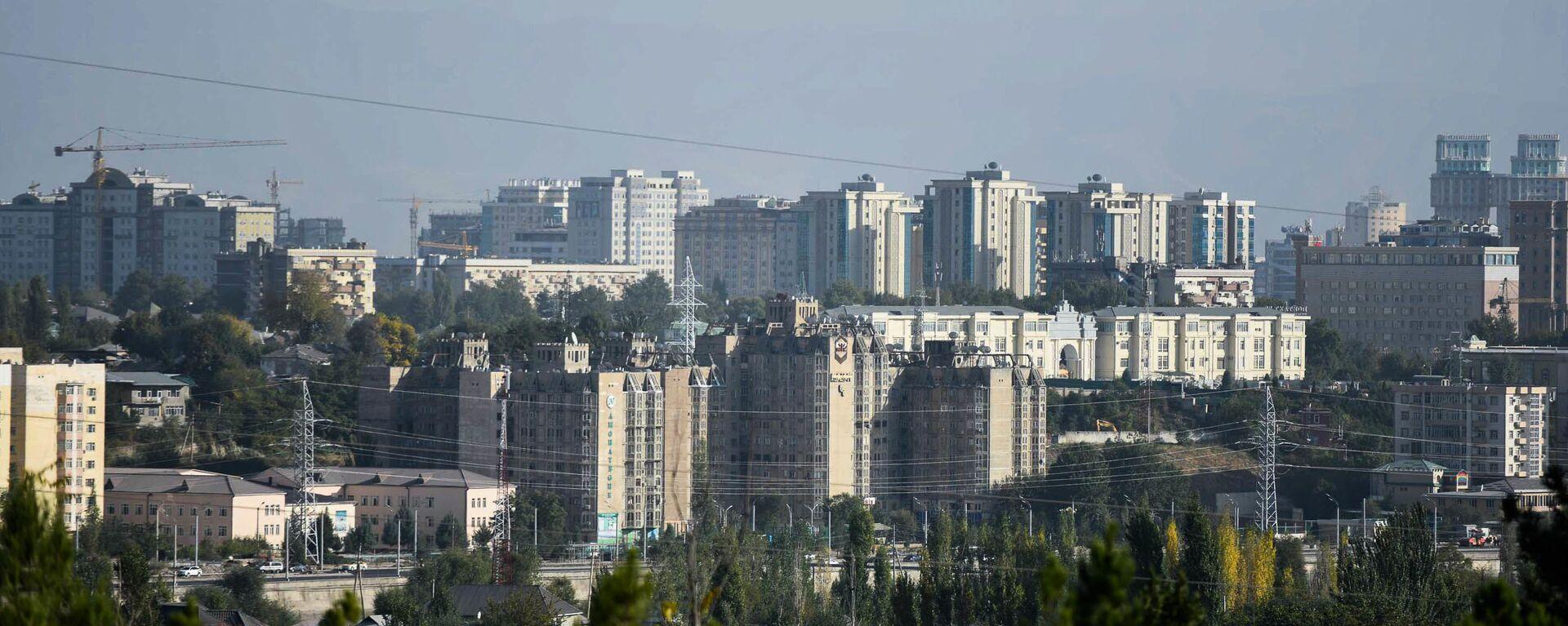 Вид на город Душанбе, архивное фото - Sputnik Тоҷикистон, 1920, 23.09.2021