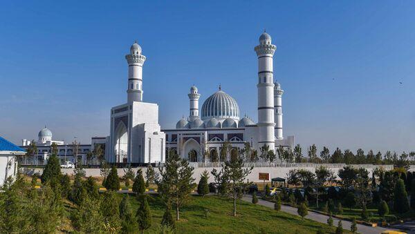 Новая мечеть в Душанбе - Sputnik Тоҷикистон
