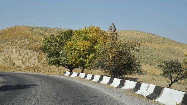 Горная дорога в Таджикистане - Sputnik Тоҷикистон