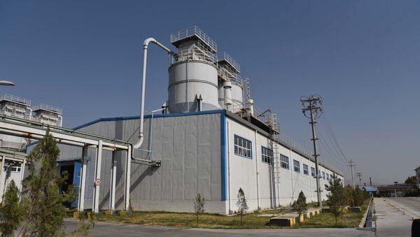 Завод по производству флюорита Талко - Sputnik Таджикистан