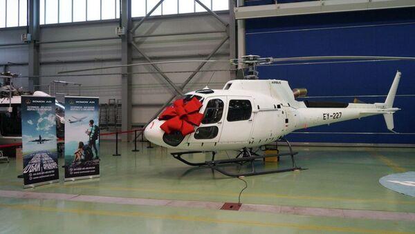 Вертолет Airbus Helicopters, переданный Казахстаном для Таджикистана - Sputnik Таджикистан