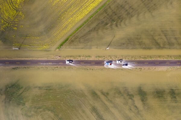 Снимок Flood фотографа Мохаммада Хусейна Мохимани, ставший финалистом конкурса Weather Photographer of the Year 2019 - Sputnik Таджикистан