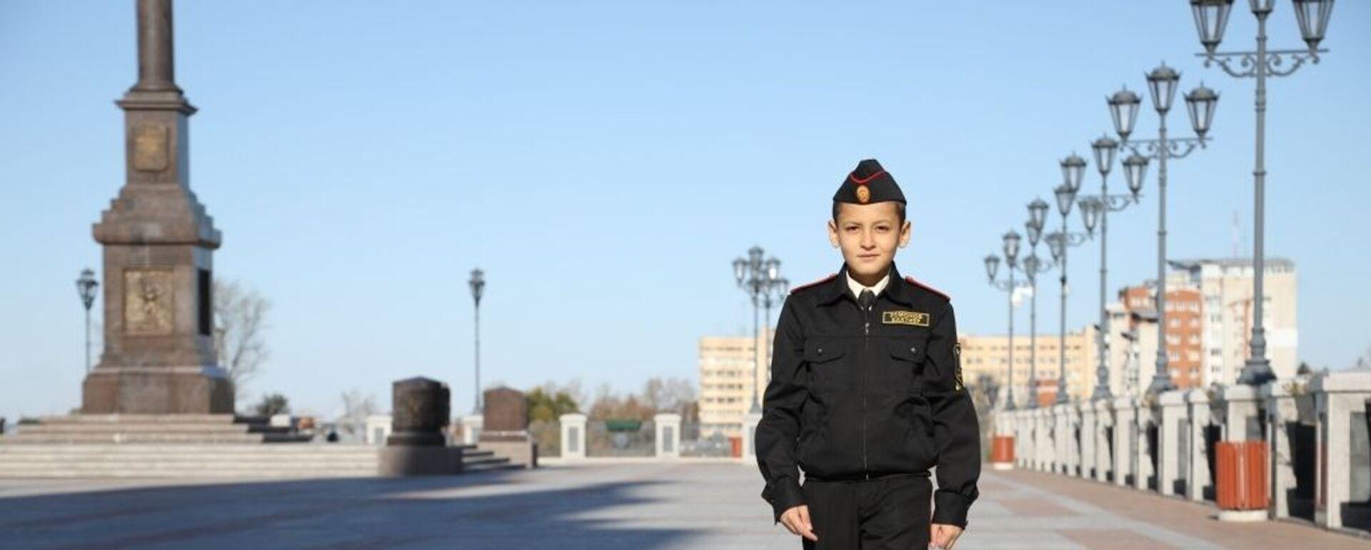 Мальчик-герой из Хабаровска Бахтиёр Усмонов - Sputnik Таджикистан, 1920, 24.03.2020