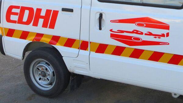 Машина скорой помощи. Пакистан - Sputnik Таджикистан