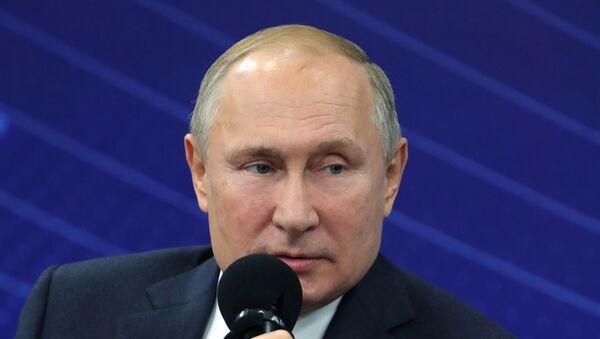 Рабочая поездка президента РФ В. Путина в Калининградскую область - Sputnik Таджикистан