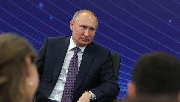 Рабочая поездка президента РФ В. Путина - Sputnik Таджикистан