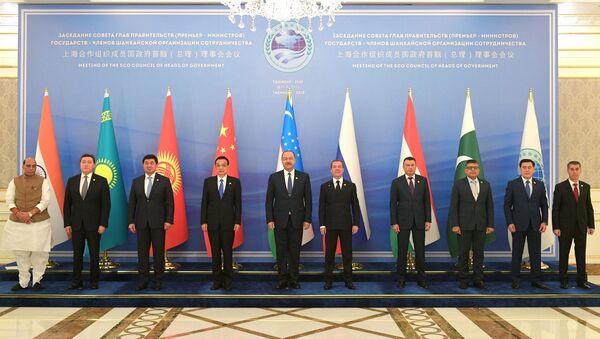 Заседание Совета глав правительств государств - членов ШОС в Ташкенте - Sputnik Таджикистан