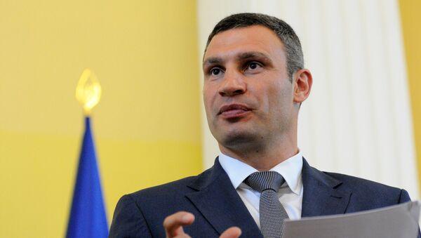 Председатель Киевской городской государственной администрации Виталий Кличко - Sputnik Тоҷикистон