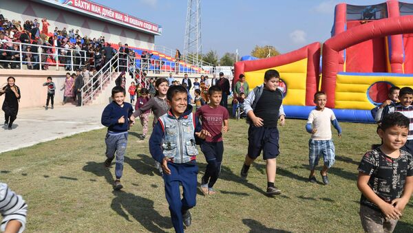 Детский фестиваль в Пяндже - Sputnik Тоҷикистон